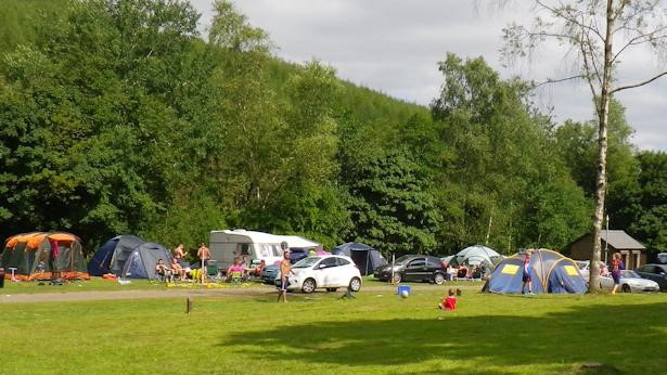 Camping at Parc Cwm Darran